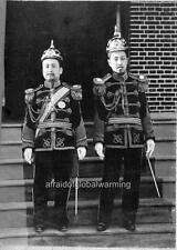 "Photo 1903 Seoul South Korea ""King Kojong & Son"""