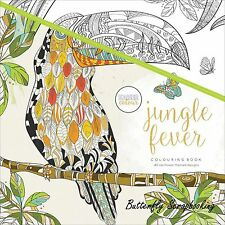 Jungle Fever Coloring Book For Markers Watercolors Pencils Kaisercraft New