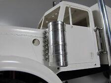 NEW Aluminum Air Cleaner Intake Tank for Tamiya 1/14 RC Semi King Hauler Tractor