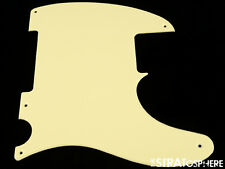 *NEW Cream Esquire PICKGUARD for Fender USA Vintage Telecaster Tele 1 Ply 5 Hole