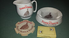 Famous Grouse Whisky- Water Jug, ash tray, playing cards and 10 beermats-Whiskey