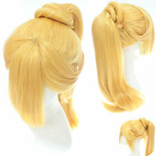 Cosplay Party Wig Hair Blonde Ponytail Fashion Wig
