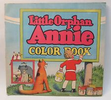 1930 Harold Gray LITTLE ORPHAN ANNIE COLOR BOOK McLoughlin Bros.