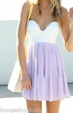 Sabo Skirt Lavender Tea Dress - NWT - Size 10