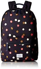 New Fossil Canvas Ella Canvas Polka Dot Navy Backpack Bag
