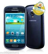 Samsung Galaxy SIII S3 Mini (unlocked) Pebble Blue i8190 Android Smartphone