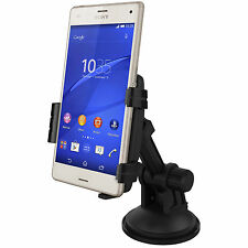Kidigi Car Mount Holder Cradle Charger Dock Stand for Sony Xperia Z3 Compact