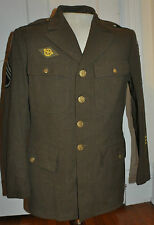 ORIGINAL WW2 US ARMY ENLISTED MANS JACKET LARGE SIZE 40 R POSSIBLY BIGGER