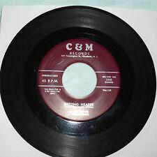 DOOWOP 45 RPM RECORD - JOHN LESTER & MELLO QUEENS - C&M 500
