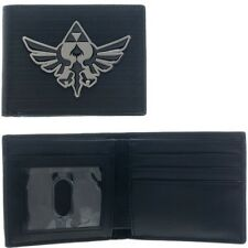 Nintendo The Legend Of Zelda Metal Badge Bi-Fold Wallet
