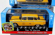 "FRIENDS THE TV SERIES PHOEBE BUFFAYS '77 CHECKER TAXI CAB SCALE 1:43 4-1/2"" LONG"