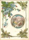 Victorian Trade Card-Lion Coffee-Woolson Spice Co of Toledo, OH-Winter Scene
