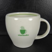 Starbucks 2003 Barista Abbey Small Mug Green Stripe Coffee Cup