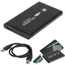 "USB 3.0 SATA 2.5"" inch HD HDD Hard Disk Drive Enclosure External Case Box Black"