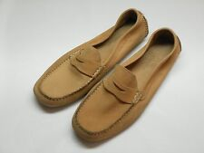 Men's COLE HAAN Light Brown Leather Loafers Size 10 B