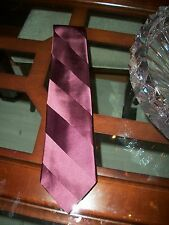 used RALPH LAUREN PURPLE LABEL burgundy silk neck tie $180 Neiman