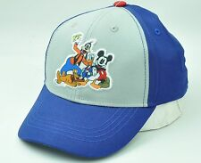 Mickey Mouse Friends Disney Youth Hat Cap Curve Bill Two Tone Cartoon Adjustable