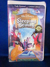 Walt Disney's Sleeping Beauty VHS Tape 1997, Limited Edition Fully Restored