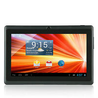 "Black Dual Core 1.2GHz 8GB ROM 7"" Android 4.2 WiFi Tablet PC 1.3 MP Camera"