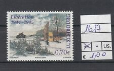 Lussemburgo /Luxembourg 2004 arrivo delle truppe alleate 1617  MNH