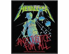 METALLICA ..and justice for all - 2013 - WOVEN SEW ON PATCH - free shipping