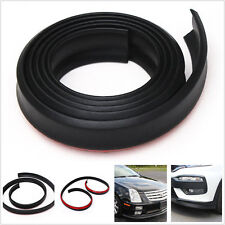 Car Front Bumper Lip Splitter Body Spoiler Skirt Valance Chin Rubber Protector
