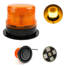 High Quality Car Amber Magnetic Warning Flash Beacon Strobe Emergency Light Lamp
