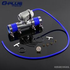 "Blow Off Valve BOV IV 4 + 2.5"" Flange Pipe + Clamps Kit + Blue Silicone Hose"
