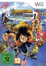 Nintendo Wii +Wii U ONE PIECE UNLIMITED CRUISE OVP TopZustand