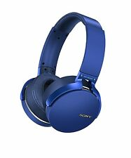 Sony MDRXB950BT/L Extra Bass Bluetooth Headphones Wireless -Blue NEW