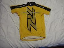 Vtg Ralph Lauren Polo Sport Mens Hi Viz Yellow Bike Cycling Summer Jersey Sz M
