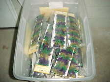 """90 Touch of Nature Mardi Gras Feather Ribbon Unopened Packages 36"""""""