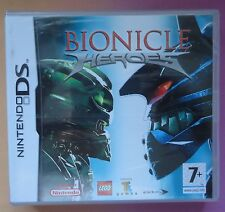 LEGO BIONICLE HEROES NINTENDO DS LITE/DSi GAME brand new & sealed UK ORIGINAL !