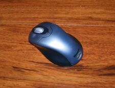 Microsoft (1008) Steel Blue 3-Button Wireless Optical Mouse 2.0 **Only** *READ*