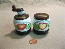 Vintage Country Apple Butter Churn Phoenix AZ Salt and Pepper Shakers          8