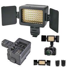 60 LED Lampe Vidéo Torche + Filtre + Support / Lumière en Continue Photo Photogr