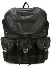 Diesel Breaking Leather Black BackPack # X03621-PR472-T8013