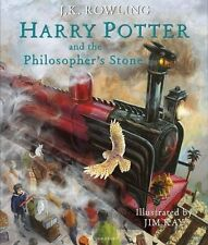Harry Potter and the Philosopher's Stone: Illustrated Edition Hardcover NEW 2015