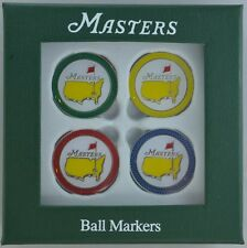 2015 Masters (4) Pack GOLF BALL MARK Marker from AUGUSTA NATIONAL