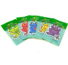 50X ASSORTED COVEVA FROG HANGING CAR VALET AIR FRESHENERS Free P&P Made in UK
