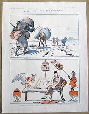 La Vie Parisienne prejelan 1920 impresión nunca estamos contentos con lo que tenemos!