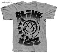 Official T Shirt BLINK 182 Classic STIPPLED Smiley Logo All Sizes