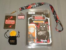 Ewoking Dead Chief Putrid Faction w Lanyard, XL Shirt, Gold Coin 2016 NYCC