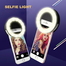Portable LED Selfie Flash Light Camera Photography Ring Light for iPhone Samsung