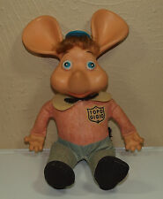 Vintage Stuffed TOPO GIGIO Mouse Rubber Doll Toy * Ed Sullivan Show Puppet