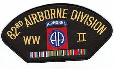 82nd Airborne Division WWII Black Hat Patch