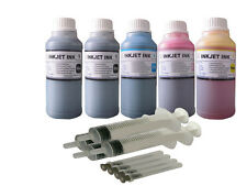 Refill ink kit for HP902 902xl OfficeJet Pro 6968 OfficeJet Pro 6978 5X250ML/S