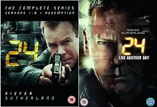 24 COMPLETE SERIES 1 - 9 Dvd COLLECTION LIVE ANOTHER DAY NEW SEALED UK R2 DVD