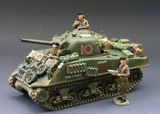 King & Country DD065 WW II British Edition Sherman, NEVER OPENED, Mint in Box!