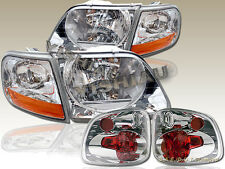 2001-2003 FORD F-150 SVT SUPERCREW HEADLIGHTS+CORNER LIGHTS+TAIL LIGHTS